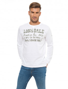 Long Sleeve Lonsdale Branca