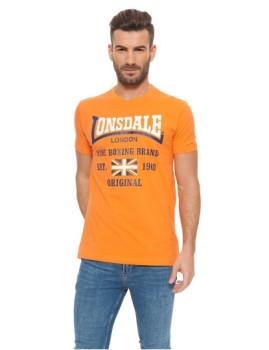 T-Shirt Jersey Lonsdale Laranja