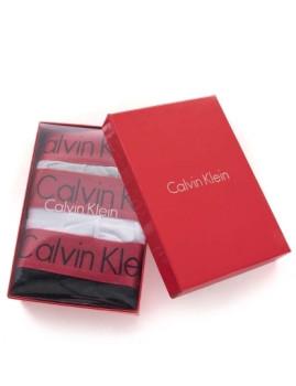 Pack 3 Boxers Calvin Klein Man Pretos / Brancos / Cinza Exclusive
