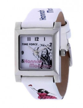 Relógio Time Force HANNAH MONTANA Rect. Branco