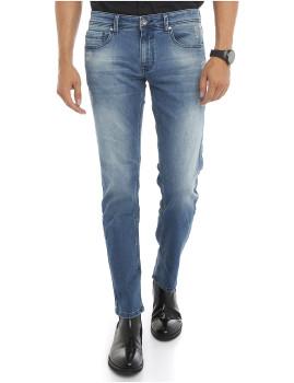 Calças de Ganga Homem Felix Hardy Azul Gelo