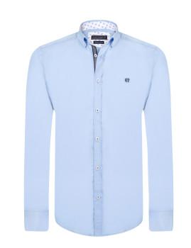 Camisa Homem Felix Hardy Azul