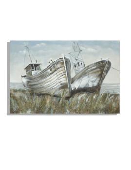 Pintura Parede Barcos