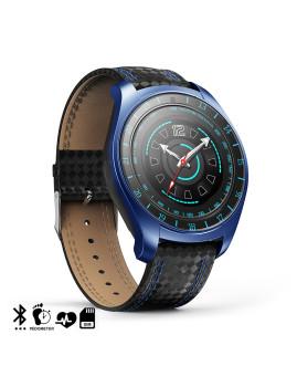 Smartwatch V10 com câmara, monitor cardíaco, posibilidade de Sim e micro SD