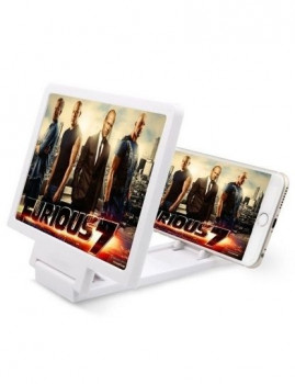 Amplificador de Ecrã 3D HD Branco