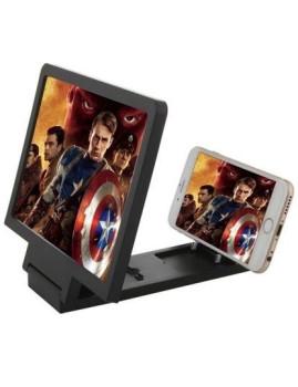 Amplificador de Ecrã 3D HD Preto