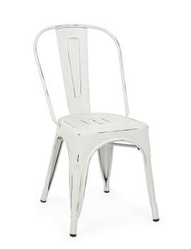 imagem de Cadeira Minnesota Branco Vintage Age1