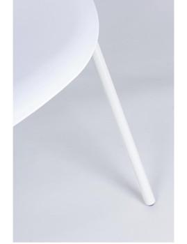 imagem de Cadeira Bizzotto Anastasia C/ Braços Branco 2