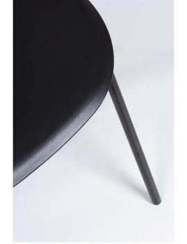 imagem de Cadeira Bizzotto Anastasia C/ Braços Preto2