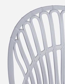 imagem de Cadeira Bizzotto Cassiopea Cinza Claro3