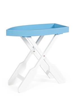 imagem de Mesa de Apoio Gozzo Branco e Azul1