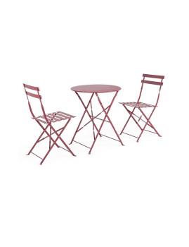 imagem de Conj.3 Mesa com Cadeiras Wissant Scarlet1