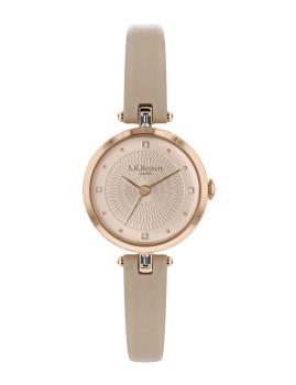 Relógio L.K.Bennett Senhora Bege e Rosa Dourado