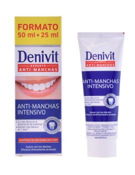Dentifrico Denivit Anti-Manchas 50 Ml + 50%
