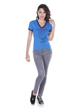 T-shirt de Senhora Giorgio di Mare Azul I