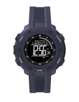 Relógio Nautica Azul e Preto