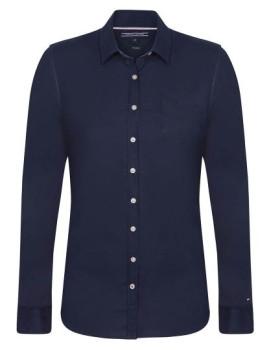 Camisa Tommy Hilfiger Senhora Azul Navy