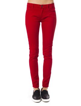 Calças 5T Clássico Trussardi Vermelho
