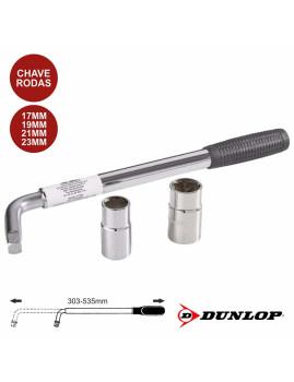 Chave de Rodas Profissional Telescópica Dunlop c/ estrutura em Aço