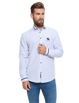 Camisa Frank Ferry Azul Ii