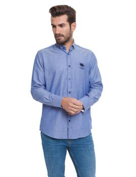 Camisa Frank Ferry Azul Indigo