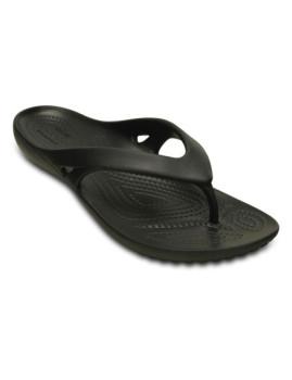 Chinelo Crocs Kadee II Flip Preta