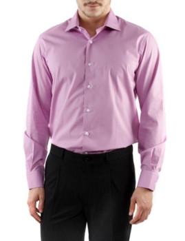 Camisa de Homem Caramelo Lilás