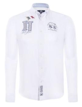 Camisa La Martina Itália Branca