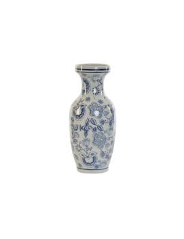 Vaso Porcelana Floral Branco