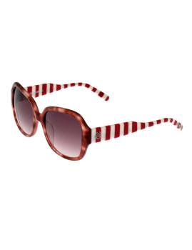 Óculos de Sol Moschino Love ML544S03 Riscas Vermelho e branco