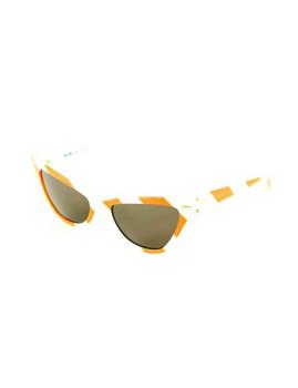 Óculos de Sol Moschino MO302S04 Laranja e Branco