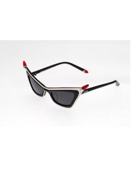 Óculos de Sol Moschino MO822S01 Branco e preto