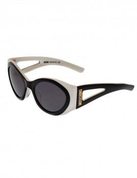 Óculos de Sol Moschino MO861S01 Preto e branco