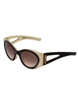 Óculos de Sol Moschino MO861S03 Branco e preto