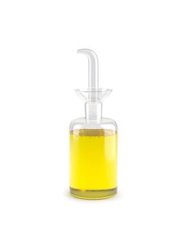 Galheteiro Basics 250ml cilindrica borosilicato. Ideal para azeite ou qualquer outro molho!