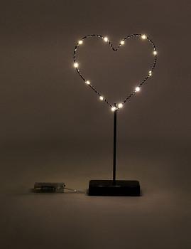 Decoração LED com base ´Forever´