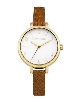 Relógio Karen Millen Senhora Castanho Caramelo
