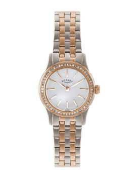 Relógio Rotary Senhora Prateado