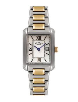 Relógio Rotary Senhora Branco Pérola