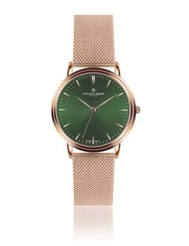 Relógio Grunhorn Dourado Rosa