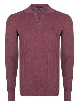 Pullover Felix Hardy Homem Bordeaux