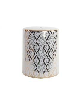 Mesa Auxiliar Porcelana Geometrica