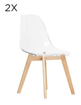 Pack 2 Cadeiras Zoe