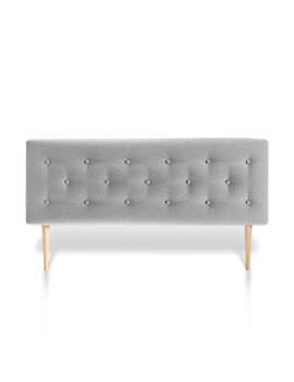 Cabeceira de cama Oslo 140X60 Cinzento