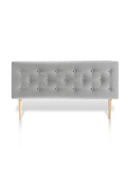 Cabeceira de cama Oslo 160X60 Cinzento