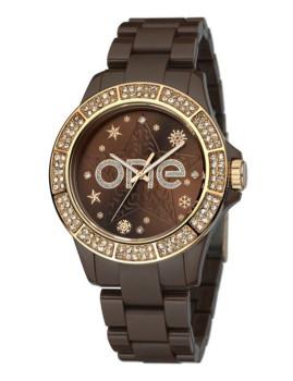 Relógio Pattern One Castanho