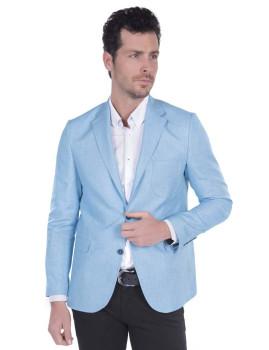 Blazer Giorgio di Mare Azul Claro