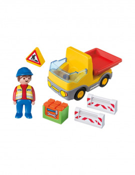 imagem de Playmobil 1.2.3 Camião das Obras2