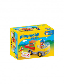 imagem de Playmobil 1.2.3 Camião das Obras1