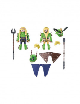 imagem de Playmobil Dragons Brutesco e Brutália com Flight Suit2